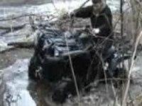 Любительское видео Yamaha Grizzly 700