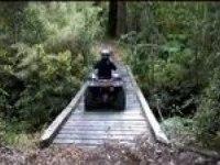 Любительское видео Yamaha Grizzly 350