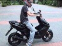 Старт Yamaha Aerox R