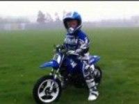 Любительское видео Yamaha PW50