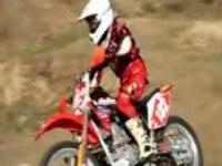 Покатушки Honda CRF150F на треке