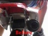 Звук вихлопа Honda CRF100F