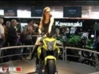 Kawasaki ER-6n на выставке
