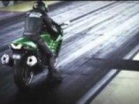 Kawasaki ZZR в драге