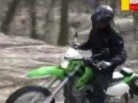 Любительское видео Kawasaki KLX250