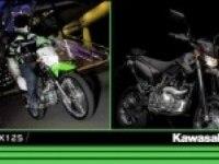 Сравнение Kawasaki KLX125 и D-TRACKER125