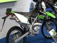 Kawasaki KLX125 на выставке