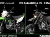 Сравнение Kawasaki KLX 125 и D-Tracker 125
