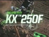 Описание Kawasaki KX250F (на английском)