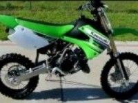 Описание Kawasaki KX85 (на английском)