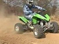 Видеообзор Kawasaki KFX450R от  ATV.com