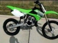 Описание Kawasaki KX100 (на английском)
