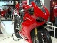 Ducati Superbike 1199 Panigale на моторшоу EICMA