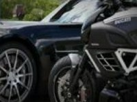 Diavel AMG и Mercedes-Benz SLS AMG