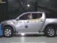 Краш-тест Mitsubishi L200