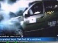 Краш-тест Dacia Logan
