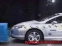 Краш-тест Peugeot 407 Сoupe