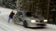 Мега-экстрим: Subaru, как дрифт-аттракцион