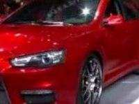 Презентация Mitsubishi Lancer Evolution X в Детройте