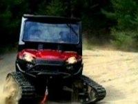 Polaris Ranger 800 EFI с гусеницами