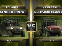 Сравнение  Polaris Ranger Crew 800 и Kawasaki Mule 4010 Trans 4x4