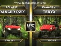 Сравнение Polaris RZR 570 и Kawasaki Teryx 750