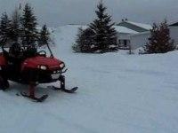 Polaris RZR 170 с лыжами и гусеницами