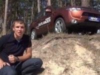 Видео-тест Outlander 2012 от InfoCar.ua