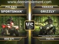 Сравнение Polaris Sportsman 800 EFI и Yamaha Grizzly 700