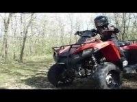 Любительское видео Polaris Trail Boss 330