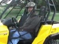 Любительское видео Can-Am Commander XT