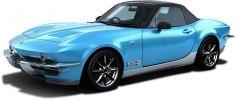 Японцы превратили Mazda MX-5 в классический Corvette - фото 4