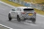 Спортивную версию Range Rover Velar заметили на Нюрбургринге - фото 1