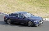 Новый седан Audi S6 замечен на тестах без камуфляжа - фото 1
