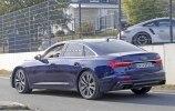 Новый седан Audi S6 замечен на тестах без камуфляжа - фото 10