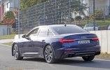 Новый седан Audi S6 замечен на тестах без камуфляжа - фото 11