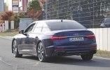 Новый седан Audi S6 замечен на тестах без камуфляжа - фото 12