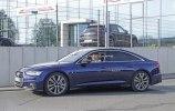 Новый седан Audi S6 замечен на тестах без камуфляжа - фото 9