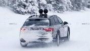 Вседорожная версия обновленной Audi A4 впервые замечена на тестах - фото 3