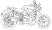 Патентные изображения Harley-Davidson Streetfighter, Custom 1250, Pan America 1250 - фото 1
