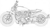Патентные изображения Harley-Davidson Streetfighter, Custom 1250, Pan America 1250 - фото 13