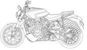 Патентные изображения Harley-Davidson Streetfighter, Custom 1250, Pan America 1250 - фото 3