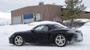 Фото нового Porsche 718 Boxster в камуфляже - фото 4