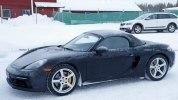 Фото нового Porsche 718 Boxster в камуфляже - фото 7