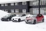 В Сеть «слили» фото трех экземпляров кроссовера Alfa Romeo Stelvio - фото 5