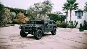 Американцы построили «трижды черный» 510-сильный Hummer H1 - фото 19