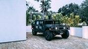 Американцы построили «трижды черный» 510-сильный Hummer H1 - фото 21