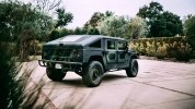 Американцы построили «трижды черный» 510-сильный Hummer H1 - фото 9