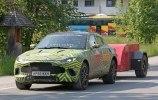 На испытаниях замечен прототип нового кроссовера Aston Martin DBX - фото 1