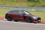 «Заряженный» вседорожник Audi RS Q8 поймали на тестах без камуфляжа - фото 5